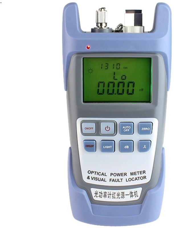 Generic optical power meter with vfl Digital Multimeter(Blue 2000 Counts)