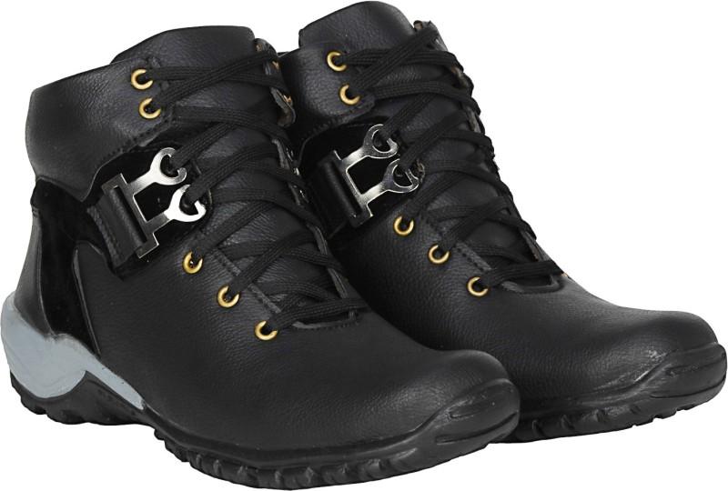Kraasa The Rock Boots, Outdoors(Black)