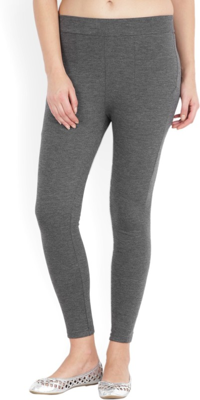 Allen Solly Womens Grey Trousers