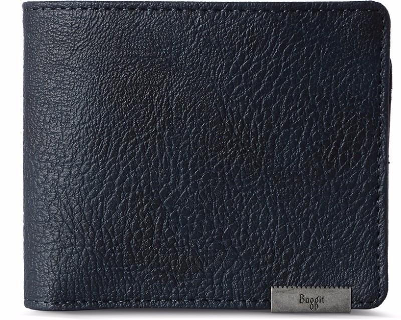 Baggit Men Blue Artificial Leather Wallet(6 Card Slots)