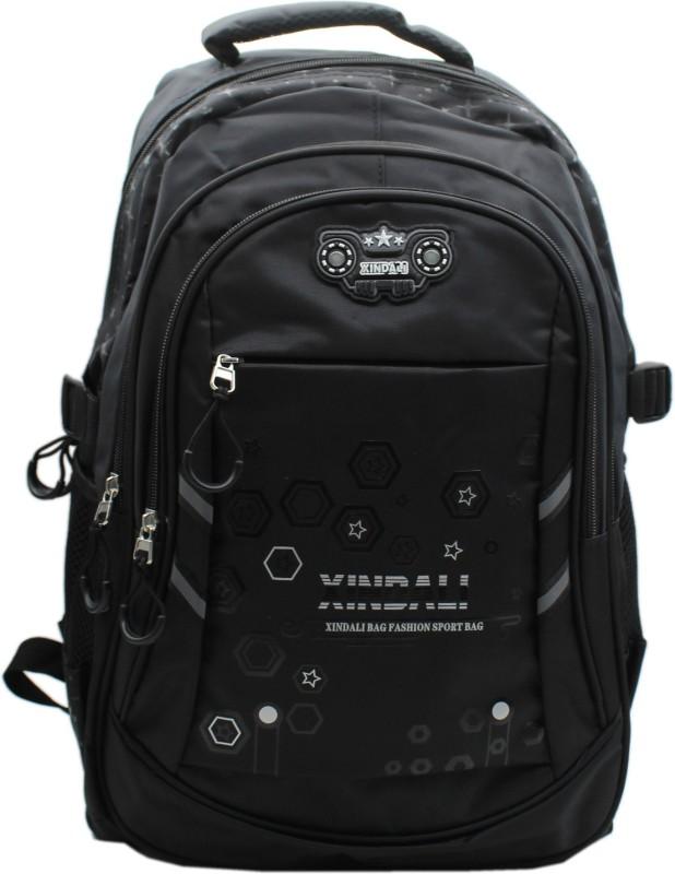 Trendy M991 Black 5 L Backpack(Black)