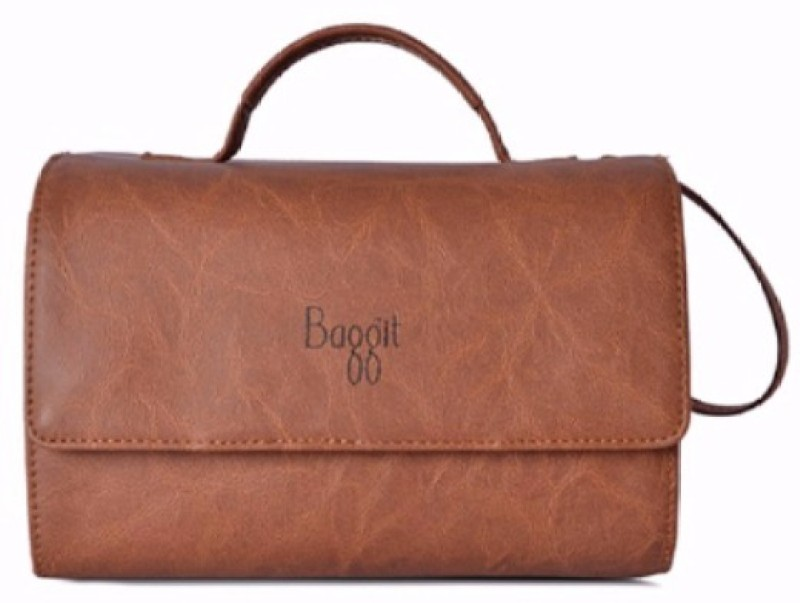 Baggit Lu Auria Y G Bindas Caramel (Tan) Xl Multipurpose Bag(Brown, 3 L)