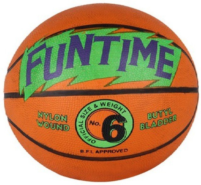 Cosco Funtime Basketball - Size: 6(Pack of 1, Orange)