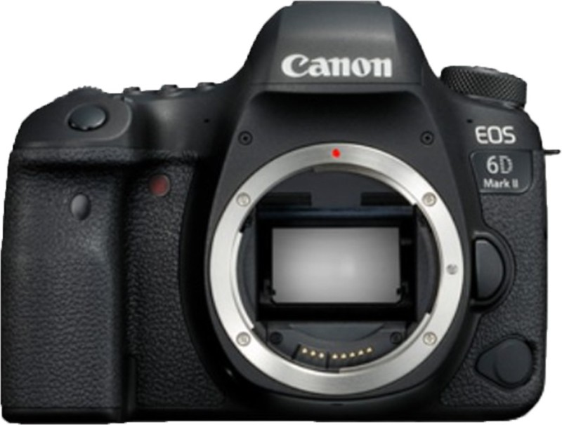 Canon EOS 6D Mark II DSLR Camera Body only (Black)