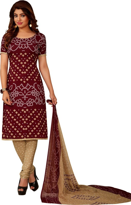 Salwar Studio Synthetic Self Design, Printed Salwar Suit Dupatta Material(Un-stitched)