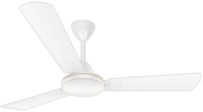 Luminous Desert Storm 3 Blade Ceiling Fan(Mint White)