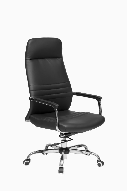 ZENNOIIR Office Chairs Leatherette Office Arm Chair(Black)