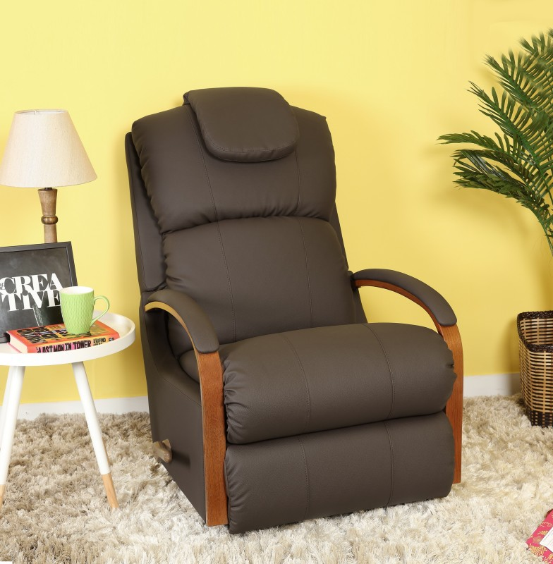 La-Z-Boy Leatherette Manual Rocker Recliners(Finish Color - Brown)