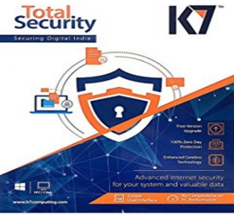K7 total security 2pc 1year