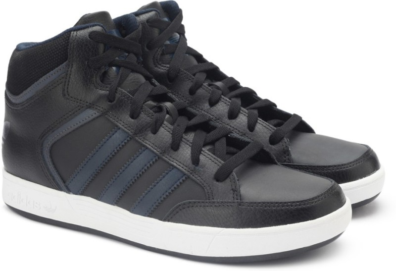 Adidas Originals VARIAL MID Sneakers(Black)