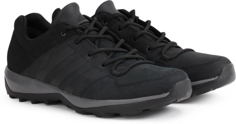 Adidas DAROGA PLUS LEA Outdoor Shoes(Black)