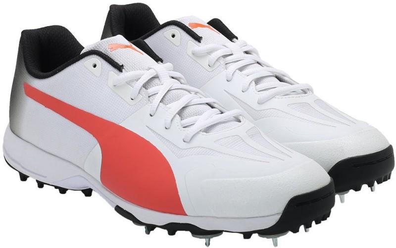 Puma Cricket Shoes(White)