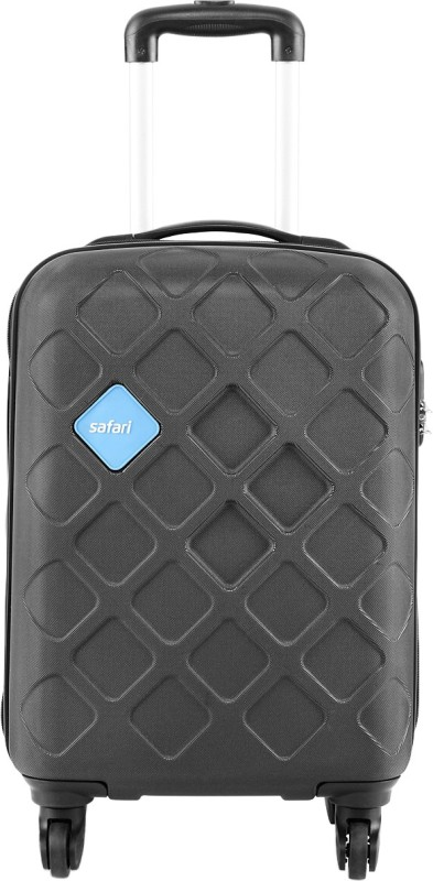 Safari Mosaic Cabin Luggage - 22 inch(Black)