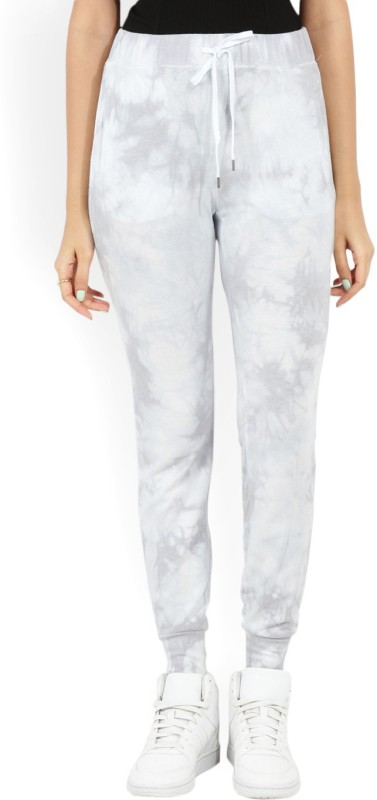 Forever 21 Women White, Grey Trousers