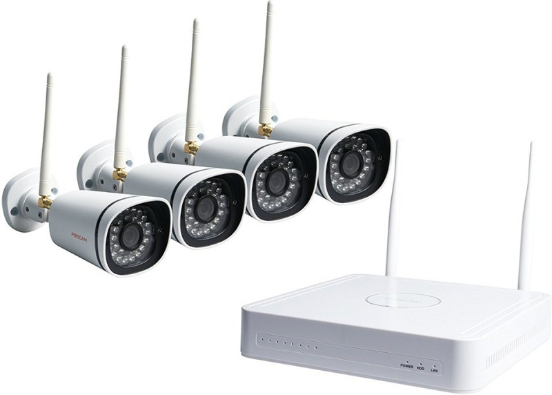 Foscam Weatherproof Webcam(Silver)