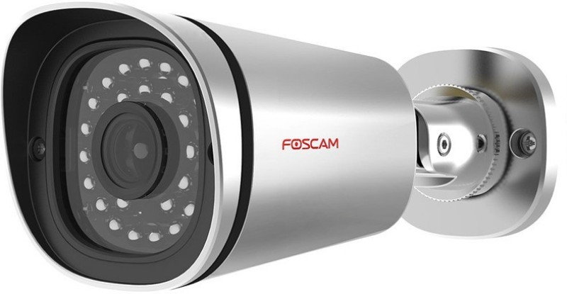 Foscam 4MP Waterproof HD OUTDOOR IP Camera-FI9901EP  Webcam(Silver) image