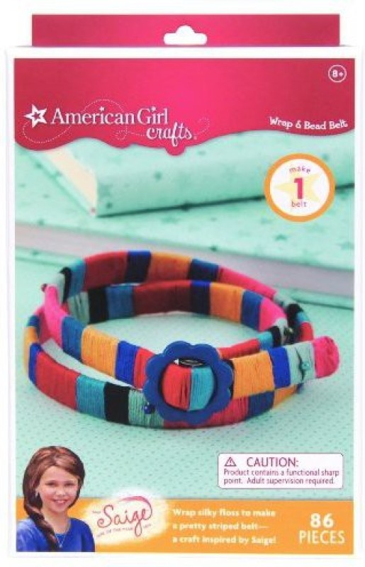 American Girl Crafts Wrap And Bead Belt Kit, 2013 Of The Year Saige