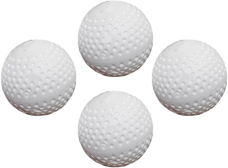 Parbat Field Pack 4 Hockey Ball(Pack of 4, White)