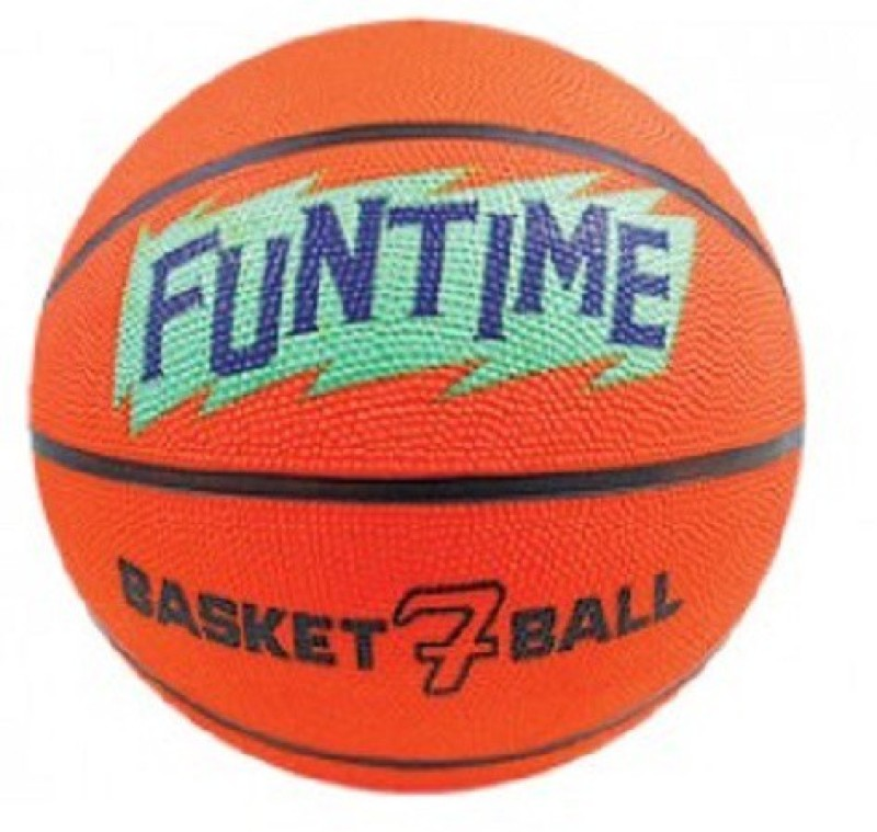 Cosco Funtime Basketball - Size: 7(Pack of 1, Orange & Green)