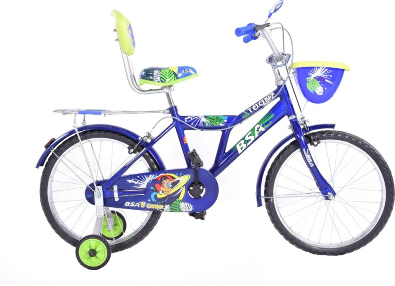 BSA Champ Toonz 20 Bicycle 20T Road Cycle(Blue)
