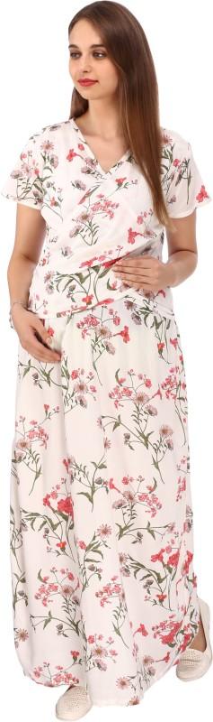d7d8d1884dc48 Vixenwrap Women Maxi White Dress