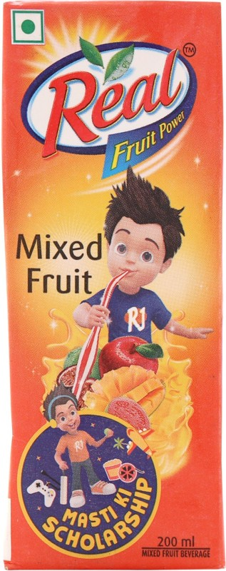 Real Fruit Juice - Mixed Fruit 200 ml
