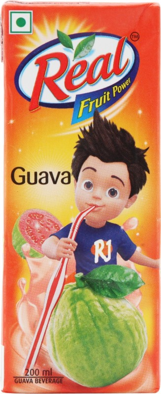 Real Fruit Juice - Guava 200 ml