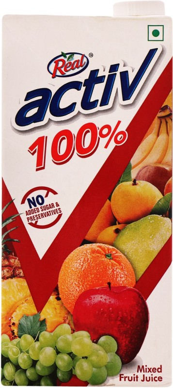 Real Activ 100% Mixed Fruit Juice 1 L