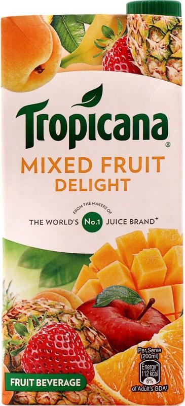Tropicana Mixed Fruit Delight Fruit Beverage 1 L