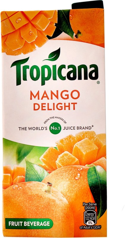 Tropicana Mango Delight Fruit Beverage 1 L