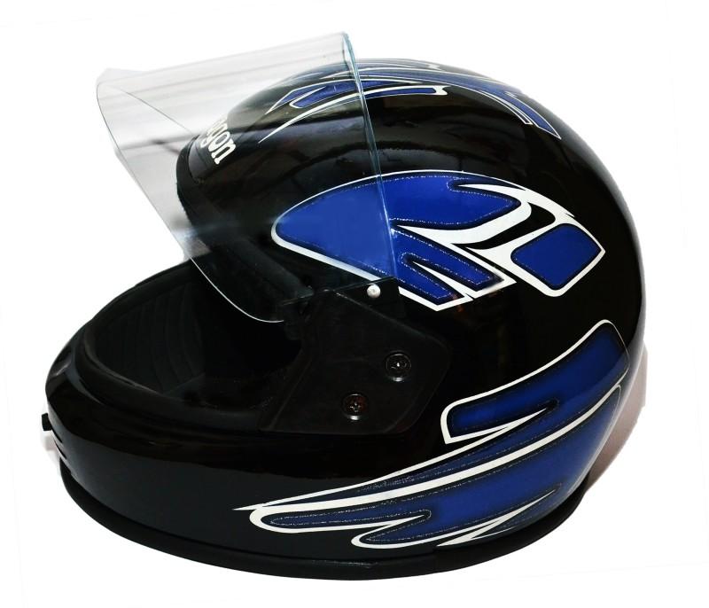 AMBA AMBA BLACK DRAGON FULL FACE MOTORBIKE HELMET Motorbike Helmet(Black)