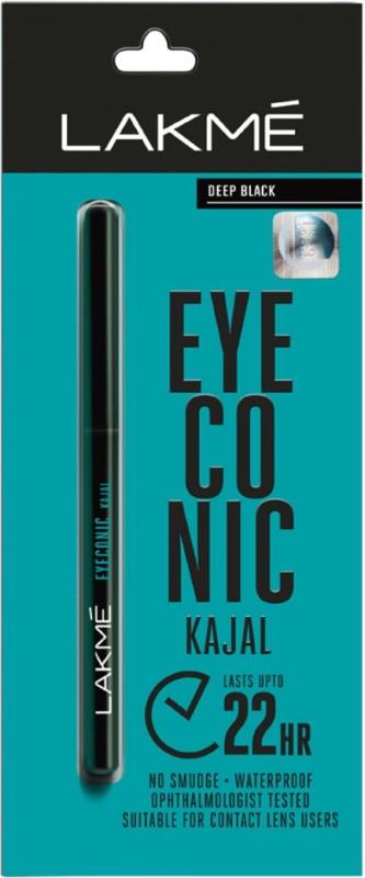 Lakme Eyeconic Kajal 0.35 g(Deep Black)