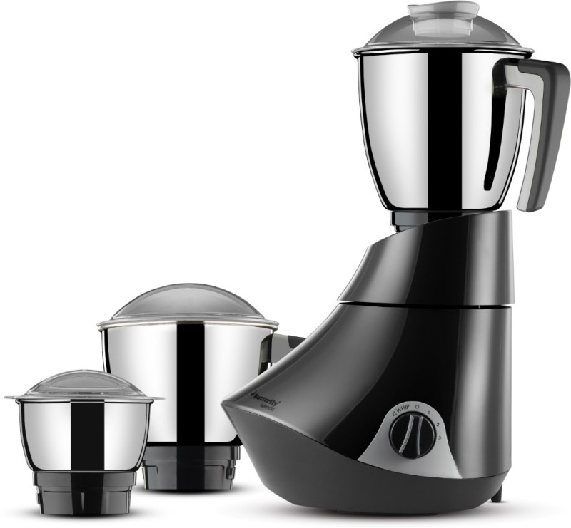 Butterfly Splendid 750 W Mixer Grinder(Grey, 3 Jars)