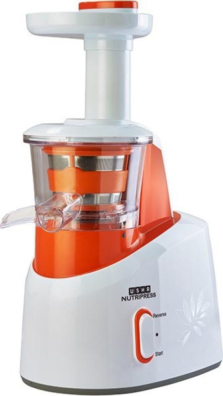 Usha CPJ 361S 200 W Juicer(Orange & White, 2 Jars)