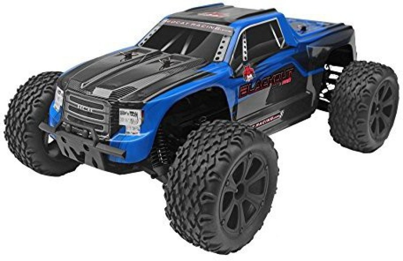 Redcat Racing XTE PRO Scale Brushless Electric Monster Truck with Waterproof Electronics(Blue)