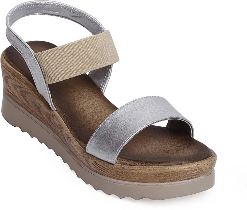 Bruno Manetti Women Silver Wedges