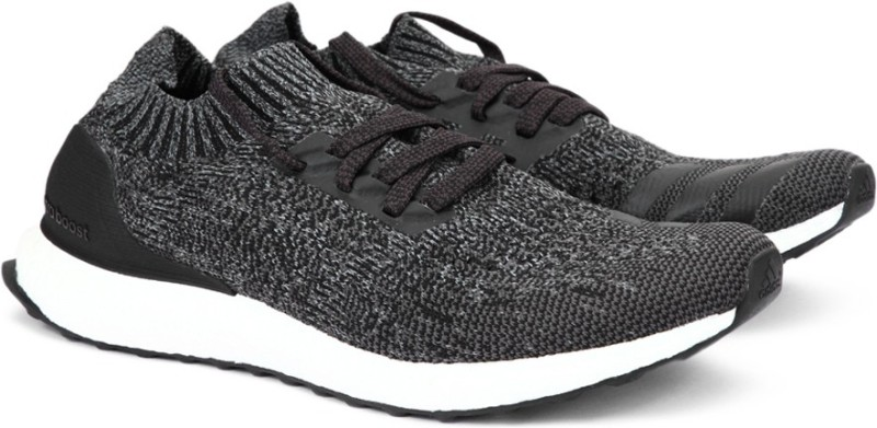 Adidas ULTRABOOST UNCAGED Running Shoes(Black, Grey)