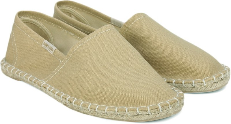 United Colors of Benetton Espadrills(Beige)