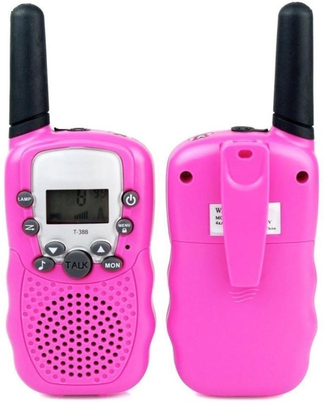ShopyBucket Walkie Talkie Set-3 Walkie Talkie Set-3 Walkie Talkie(Pink)