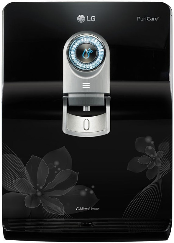 LG A2E Plus - WW180EP 8 L RO + UV +UF Water Purifier(Black)