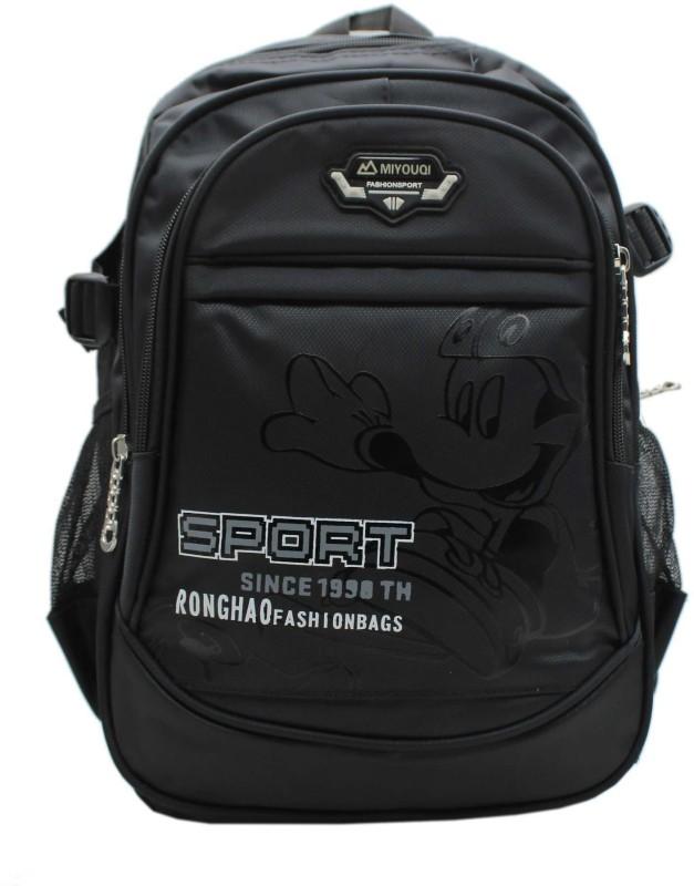 Trendy M6112 Black 5 L Backpack(Black)