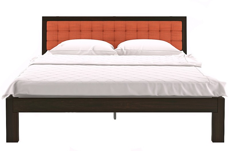 Urban Ladder Florence Solid Wood King Bed(Finish Color - Mahogany)