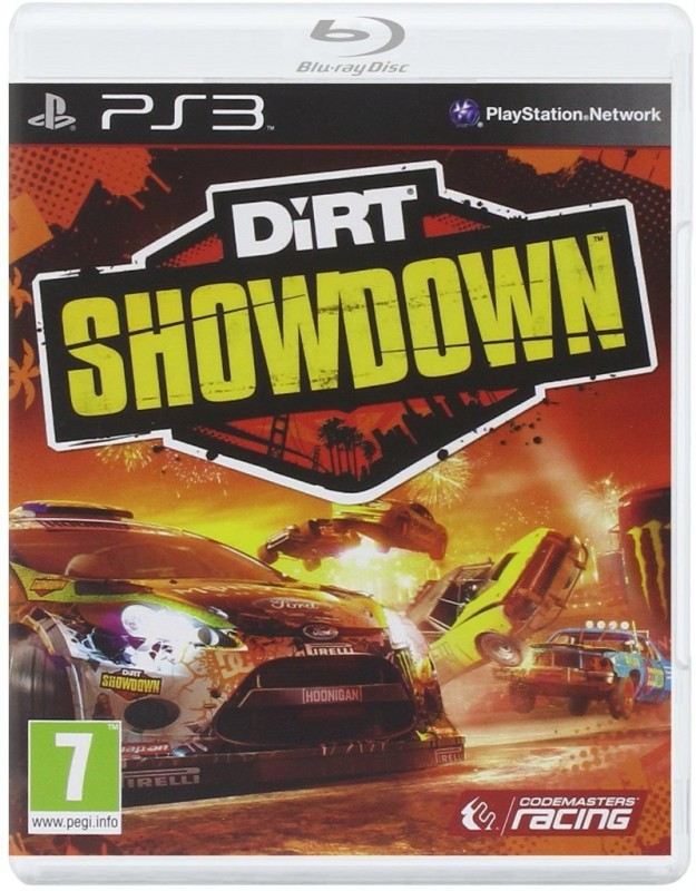 PS3 DIRT SHOWDOWN(Digital Code Only - for PS3)
