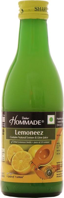 Dabur Hommade Lemoneez(250 ml)