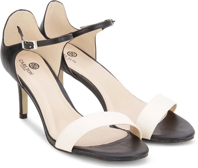 6. Carlton London Women BLK/WHIT Heels