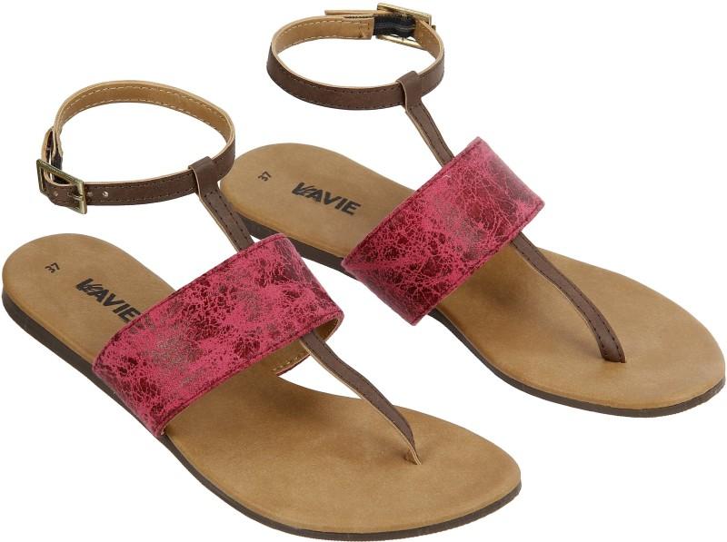 Lavie Women Pink, Brown Flats