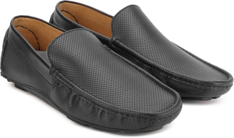 United Colors of Benetton Loafers For Men(Black)