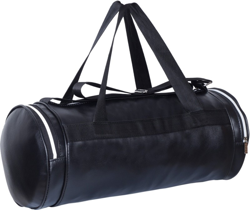 Dee Mannequin Black Fitness Gym Bag(Black, Kit Bag)