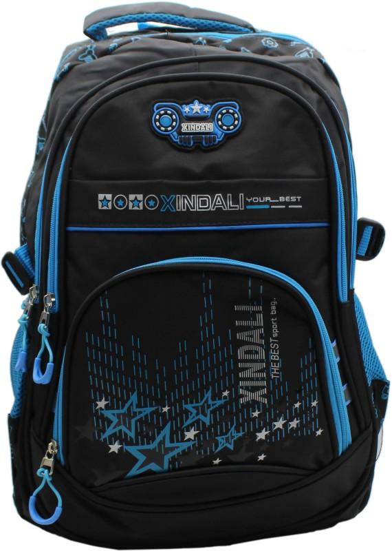 Trendy M898 Blue 5 L Backpack(Blue)