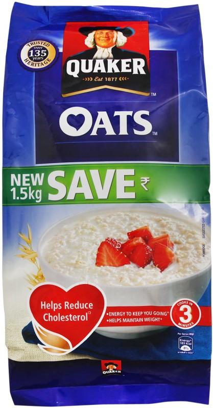 Quaker Oats(1.5 kg, Pouch)